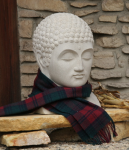 Buddha with Scarf